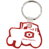Tractor Soft Keychain - Opaque