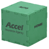 View Image 1 of 3 of Foam Puzzle Cube