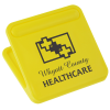 View Image 1 of 3 of Mega Magnet Clip - Square - Opaque