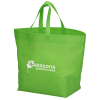 """View Image 1 of 2 of Heat Seal Large Gusset Tote - 13-1/2"""" x 12"""""""