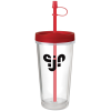 View Image 1 of 3 of Clear Concept Tumbler - 16 oz.