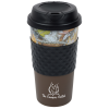 View Image 1 of 2 of Color Banded Classic Coffee Cup - Camo - 16 oz.