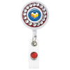 Bling Ring Retractable Badge Holder - 40