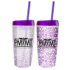 Spot It Color Changing Tumbler with Straw - 16 oz.