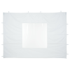 10' Deluxe Event Tent - Window Wall - Blank