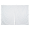 10' Deluxe Event Tent - Middle Zipper Wall - Blank