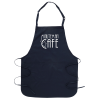 Stain Release Bib Apron with Teflon Finish - Screen
