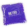 View Image 1 of 2 of Square Aqua Pearls Hot/Cold Pack - 24 hr