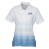 Ombre Print Polo - Ladies'
