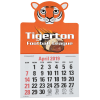 Paws and Claws Press-n-Stick Calendar-Tiger