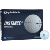 View Image 1 of 2 of TaylorMade Distance+ Golf Ball - Dozen