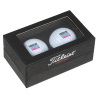 View Image 1 of 3 of Titleist 2 Ball Business Card Box - Pro V1
