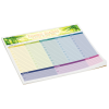 Bic Note Paper Mouse Pad - Color Flood - 50 Sheet