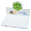 Bic Sticky Note Adhesive Notepad with Die-Cut Holder - Dollar