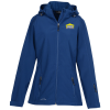 View Image 1 of 3 of Eddie Bauer Hooded Soft Shell Coat - Ladies'