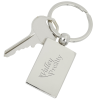 View Image 1 of 2 of Showoff Metal Keychain