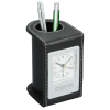 Traverse Desk Clock with Pen Cup