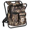 View Image 1 of 3 of Chillin' 24-Can Cooler Bag Stool - Camo