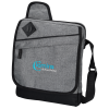 Graphite Tablet Bag - Embroidered