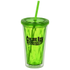 Spirit Optic Tumbler with Straw - 16 oz. - 24 hr