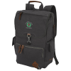 Alternative Deluxe Cotton Laptop Rucksack Backpack - Emb