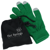 View Image 1 of 4 of Touch Gloves with Pouch