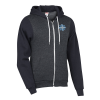 American Apparel Flex Fleece Zip Hoodie - Colorblock - Embroidered
