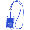 View Image 1 of 7 of Silicone Smartphone Pocket with Strap
