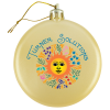 Satin Flat Ornament - Full Color