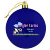 View Image 1 of 2 of Flat Shatterproof Ornament - Opaque - Full Color