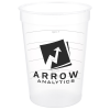 View Image 1 of 2 of Translucent Stadium Cup with Measurements- 12 oz.