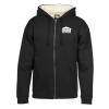 Sherpa Lined Full-Zip Hooded Sweatshirt - Screen