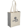 Printed Side Cotton Tote - Sailing Compass