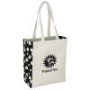 Printed Side Cotton Tote - Bubble Explosion