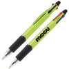 View Image 1 of 5 of Orbitor 4-Color Stylus Pen - Metallic