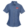 Utility Short Sleeve Denim Shirt - Ladies'