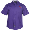 View Image 1 of 3 of Workplace Easy Care SS Twill Shirt - Men's