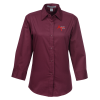 Workplace Easy Care 3/4 Sleeve Twill Shirt - Ladies'