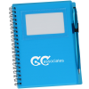 Business Card Notebook with Stylus Pen - Translucent - 24 hr