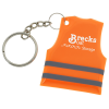 View Image 1 of 3 of Reflective Safety Vest Keychain
