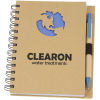 Die Cut Recycled Notebook - Globe - 24 hr