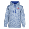 Badger Blend Polyester Fleece Performance Hooded Pullover