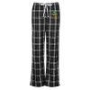 View Image 1 of 3 of Flannel Plaid Pants - Ladies'
