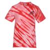 View Image 1 of 2 of Tie-Dye Animal Stripe T-Shirt