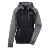 Performance Colorblock Full-Zip Hooded Sweatshirt - Ladies'