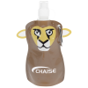 Paws and Claws Foldable Bottle - 12 oz. - Lion