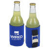 View Image 1 of 6 of Koozie® Bottle Opener Beverage Kooler