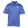 View Image 1 of 3 of Shadow Heather Polo - Men's