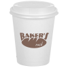 Compostable Solid Cup with Traveler Lid - 12 oz.