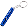 Metal Whistle Key Tag - 24 hr
